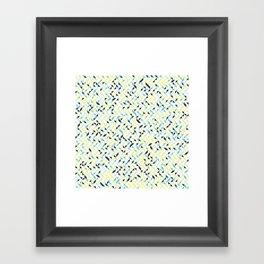 Lemon and Ink Framed Art Print
