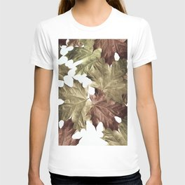 Faded Autumn Leaves T-shirt
