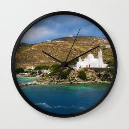 Ios,Kyklades,Greece. Wall Clock