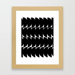 Minimalist Pattern #1 Framed Art Print