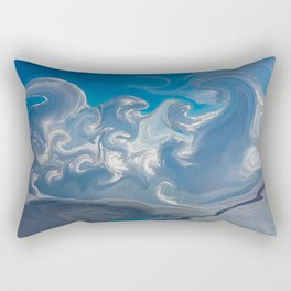 Magical Mystical Clouds Over India Rectangular Pillow
