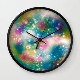 Deep Space Galaxy Wall Clock
