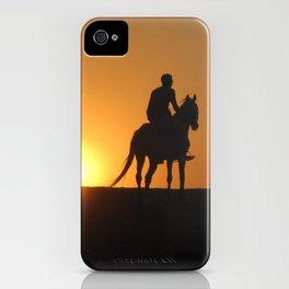 Three Horsemen iPhone Case