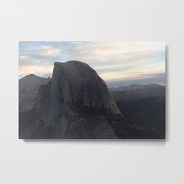 Sunrise at Half Dome Metal Print