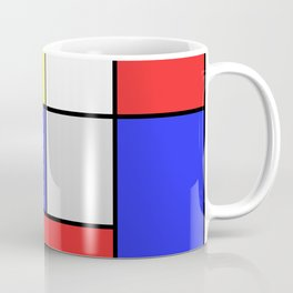 Mondrian #25 Coffee Mug