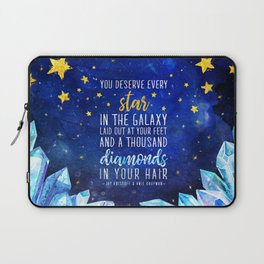 Star and Diamonds Laptop Sleeve
