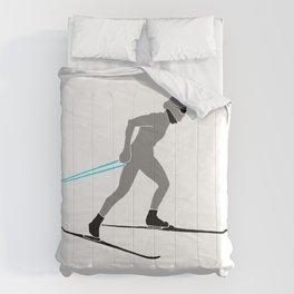 Cross Country Skier Comforters
