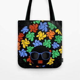 Afro Diva : Colorful Tote Bag