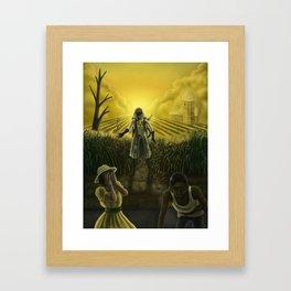 Blight Framed Art Print
