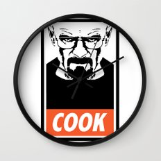 Heisenberg the Cook Wall Clock