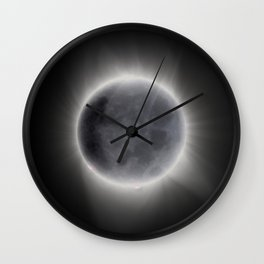 Earthshine Wall Clock