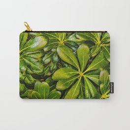 Top View Leaves Photo Carry-All Pouch