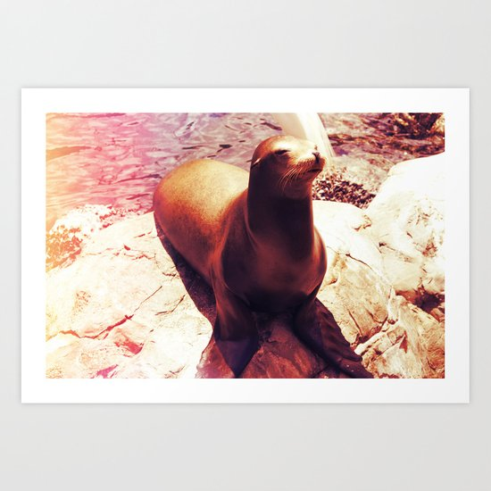 Seal Isn't a Man Art Print