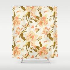 Magnolia Pattern Shower Curtain
