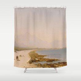 Sanford Robinson Gifford - Near Palermo Shower Curtain