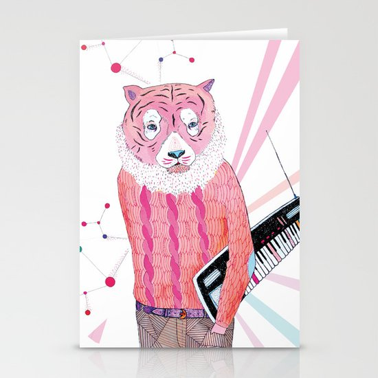 Pink Tiger Stationery Cards