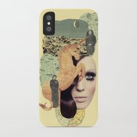 aquarius iPhone & iPod Cases featuring Aquarius by Francisca Pageo