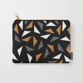 Animated triangles Carry-All Pouch