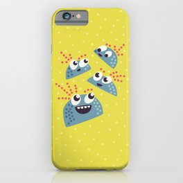 Happy Candy Friends iPhone Case