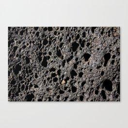 Vocanic rock Canvas Print