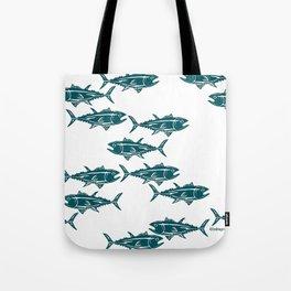 Screaming Tuna Tote Bag