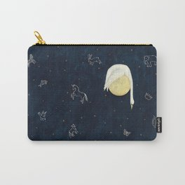 Sleeping on the Moon Carry-All Pouch