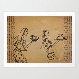 Khanasutra Art Print