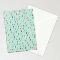 Raindrop Confetti Stationery Cards
