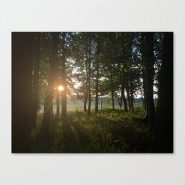 Dusk to Dawn Canvas Print