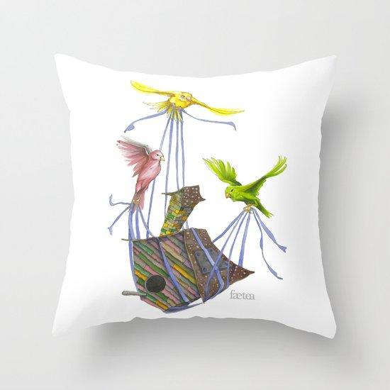 Fly Away Home Throw Pillow