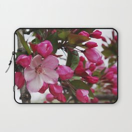 Spring blossoms - Strawberry Parfait Crabapple Laptop Sleeve
