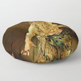 DANCE OF SALOME - LEOPOLD SCHMUTZLER Floor Pillow