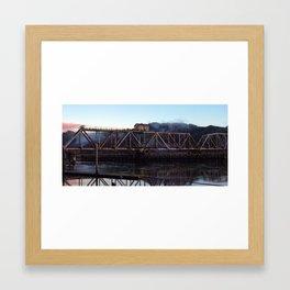 Bridge House Rust Framed Art Print