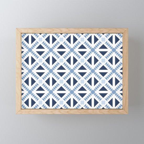 Geo Stamp Blue by emmamazur