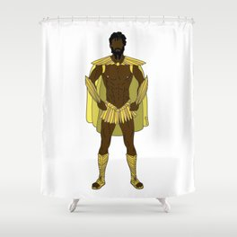 Gladiator Warrior 3 Shower Curtain