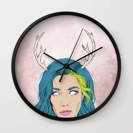 THE BADLANDS. Wall Clock