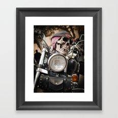 Happy rider  Framed Art Print
