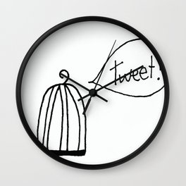 Is There Anyone Home? Wall Clock
