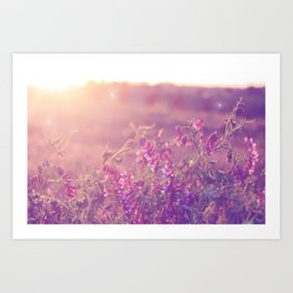World Sun Art Print
