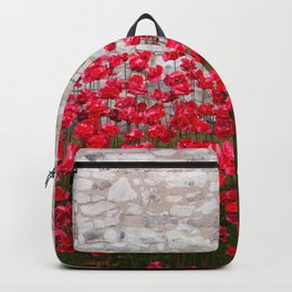 Tower Poppies 04B Backpack