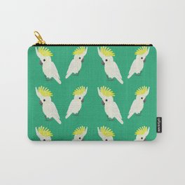 Sulphur-crested cockatoo Carry-All Pouch
