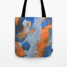 Silver strikes Tote Bag