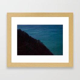 Half half Framed Art Print