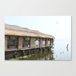 Houseboats I Canvas Print
