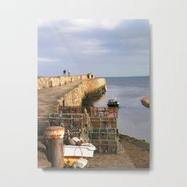 St. Andrews Pier Metal Print