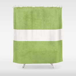 green classic Shower Curtain