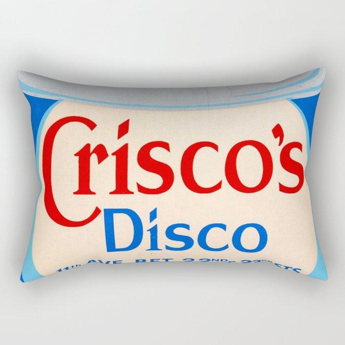 Crisco's Disco Rectangular Pillow