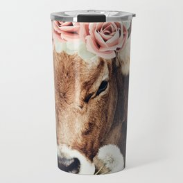 Glamour cow Travel Mug