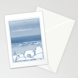 In Paradise Labyrinth Andre Bloc Stationery Cards