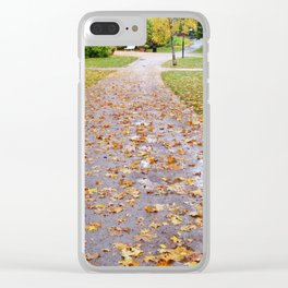 October 1 Clear iPhone Case